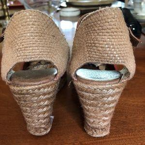 Aldo Shoes - ALDO red suede Espadrilles